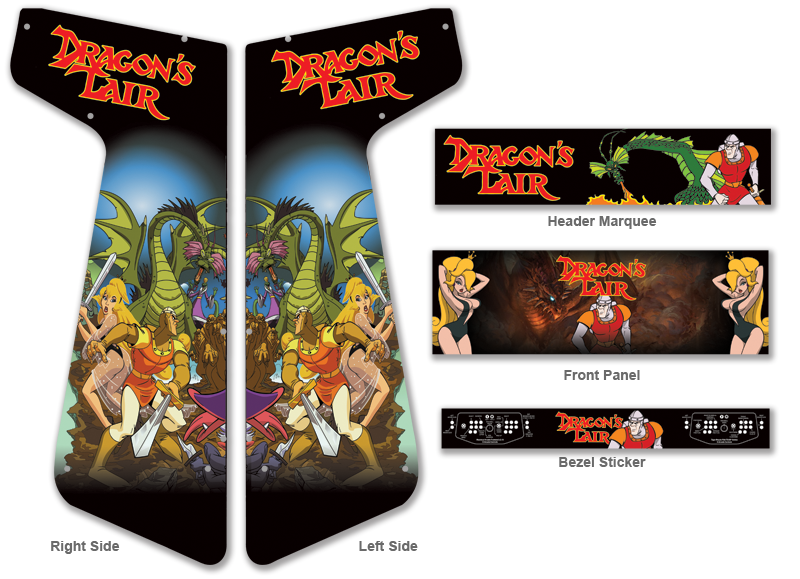 Customer Submitted: Custom Dragon's Lair Graphics For Xtension ...