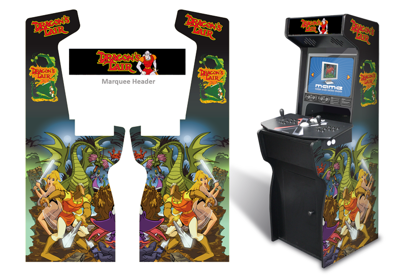 Customer Submitted: Custom Permanent Full Size Dragon's Lair ...