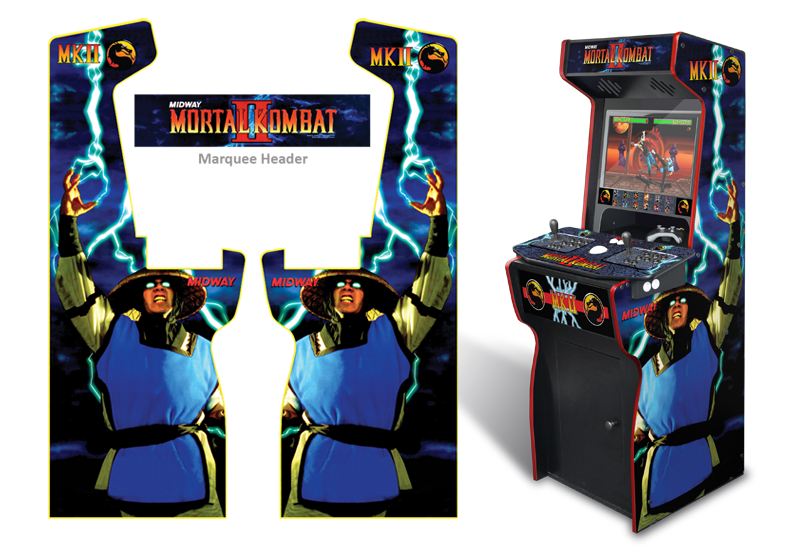 Customer Submitted: Custom Permanent Full Size Mortal Kombat II ...