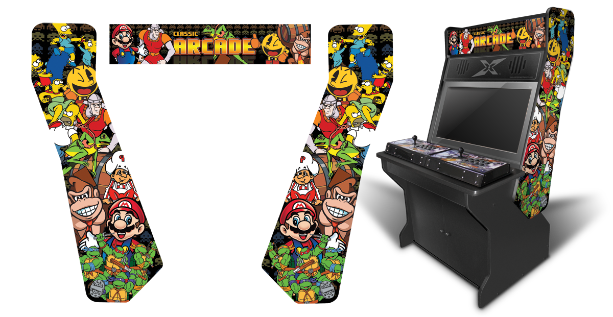 Graphics For Arcade Cabinet Graphics | www.graphicsbuzz.com