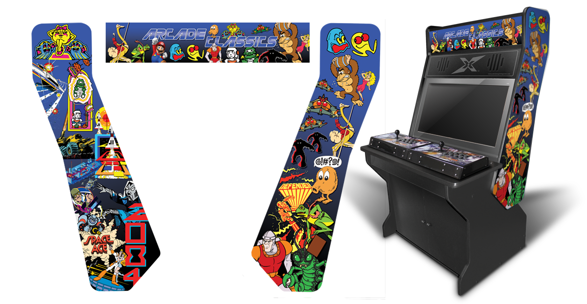 Customer Submitted Arcade Classics 4 Inspired Graphics
