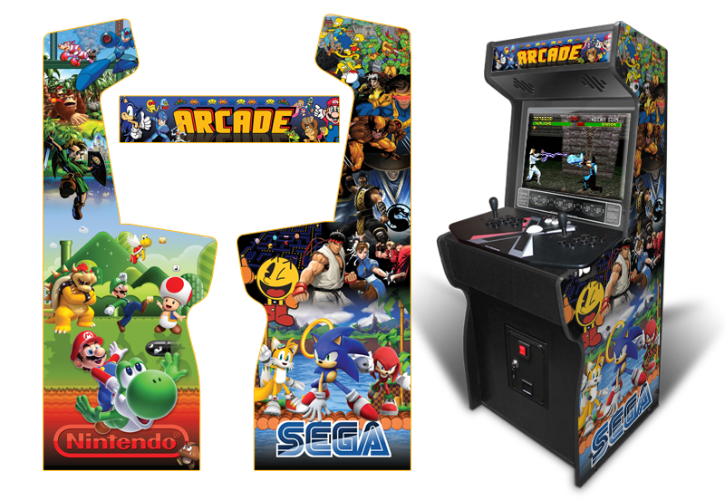187 Classic Arcade Inspired Arcade Graphics Game Room Graphics