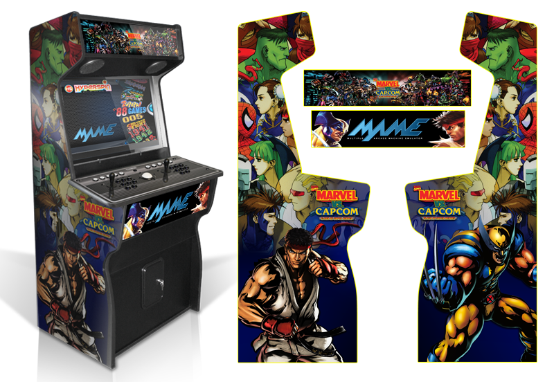 187 Customer Submitted Custom Permanent Full Mame Marvel Vs